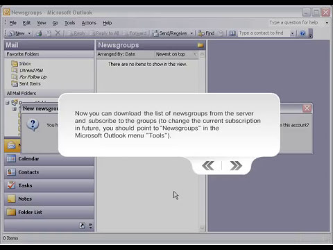 MAPILab NNTP for Outlook configuration