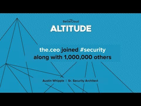 Altitude 2018: the.ceo Joined #security Along With 1,000,000 Others