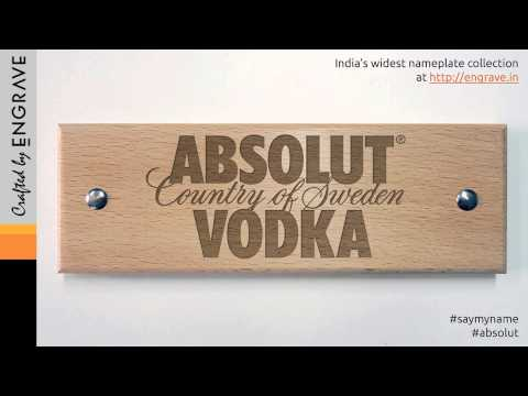 How to pronounce Absolut