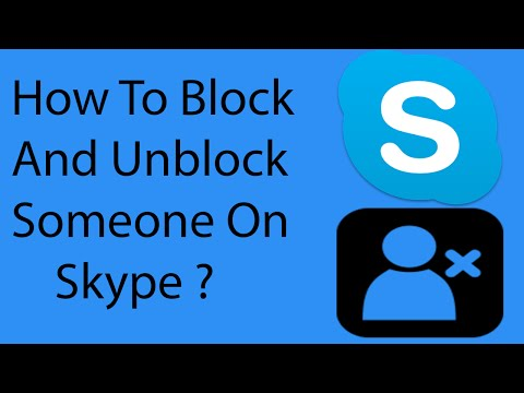 How To Block and Unblock Someone On Skype -2016 ?