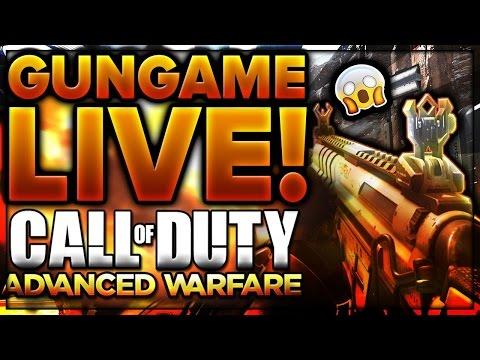I play GUN GAME!! Advanced Warfare GUN GAME #1