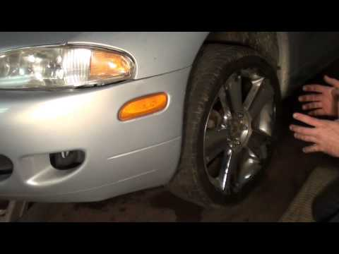 How to check ball joints with strut suspension