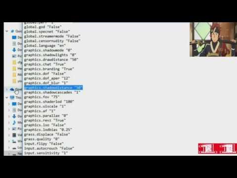 Rust: Baja resolución y archivo  para equipos de gama baja
