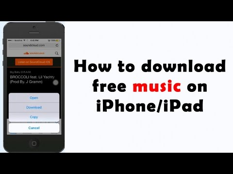 Download music on iPhone and send on whatsapp 2017 | NO Jailbreak/PC |