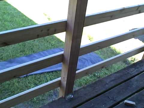 FarmThirtyNine - New Deck Railing