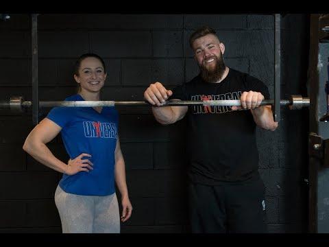 Universal Exercise Low-Bar Squat with Jordan & Michelle