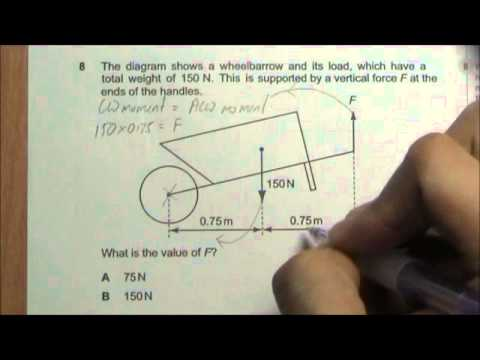 2008 O' Level Physics 5058 Paper 1 Solution Qn 6 to 10