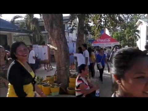 Philippines Presidential Election Voting Center May 9 2016