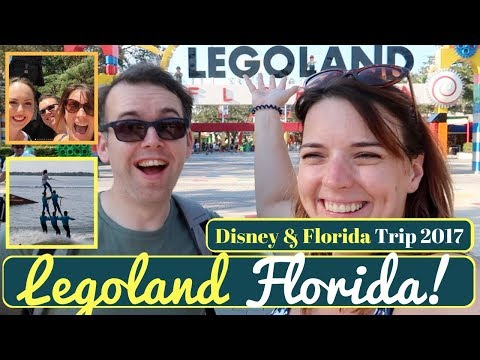 Walt Disney World & Orlando Vacation Vlog #6 | Legoland with Ellie Steadman | KrispySmore Sept 2017