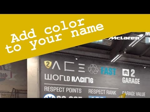CSR2: Add Colors to your In Game Name (IGN)