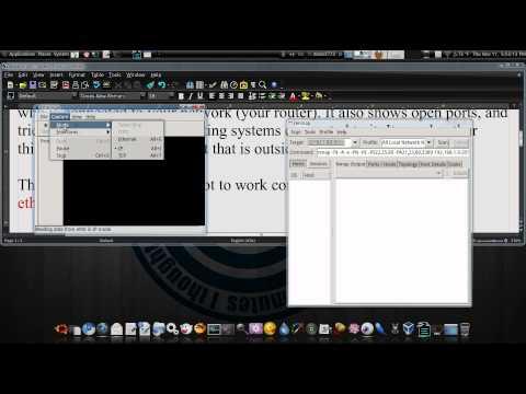 Monitor Your Network With Zenmap And Etherape Ubuntu 10.04