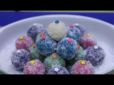 Recipe - Coconut Ice Snow Balls
