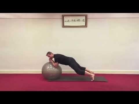 Dynamic Plank Series Using the Gym Ball - with Danny Bridgeman