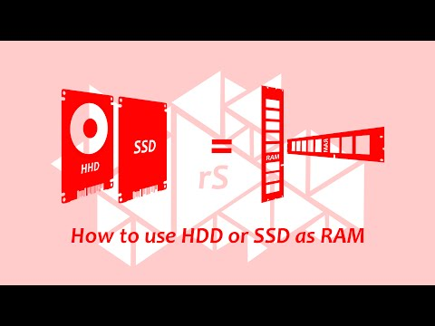 How to use Hard disk as a RAM