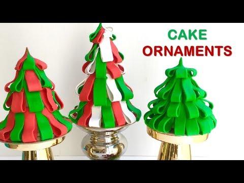 AMAZING Christmas Tree Ornament CAKES
