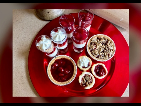 3 Easy Mini Cherry Desserts for National Cherry Pie Day