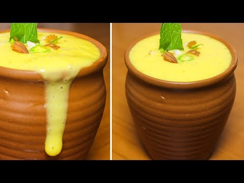 Mango Lassi Recipe | Mango Lassi With Mango Pulp | How to make Mango Lassi | Kanak's Kitchen