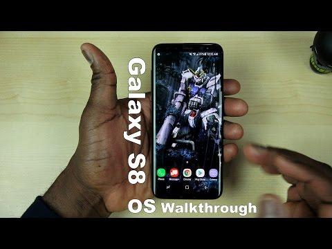Galaxy S8 OS Walkthrough!