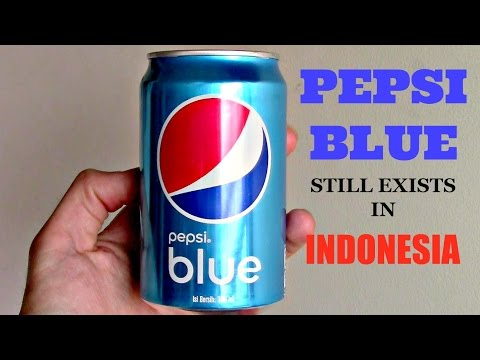 Pepsi Blue Still Exists... in Indonesia