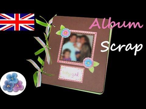 DIY Scrapbook Album *Baby Album* the scrap book Scrap Ideas Scraps Paper Craft Mathie