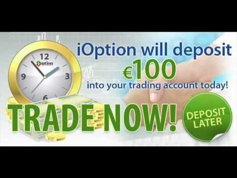 binary options no deposit bonus - free $100 ioption no deposit bonus