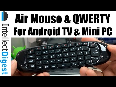 Wireless Air Mouse And Qwerty Keyboard For Android TV and Mini PC | Intellect Digest