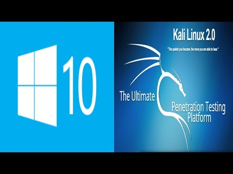 Remove or reset windows 10 password using Kali Linux