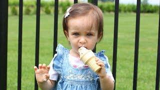 3 Ingredient Baby Ice Cream