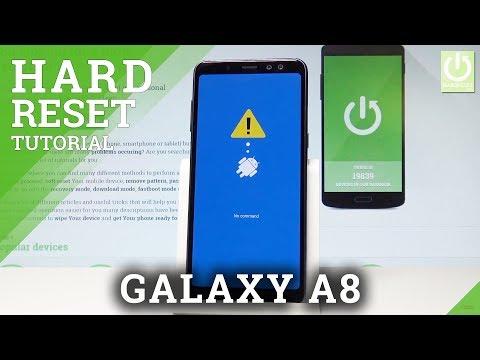 How to Hard Reset SAMSUNG Galaxy A8 (2018) - Bypass Screen Lock |HardReset.Info