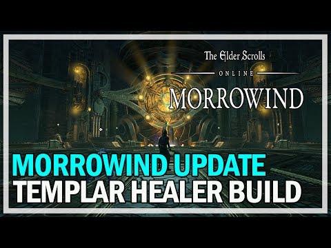Templar Healer PvE Build Morrowind Update - The Elder Scrolls Online