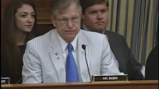 """Rep. Babin Q&A on """"Energy Innovation: Letting Technology Lead"""""""