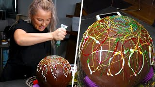 Giant Chocolate Easter Egg