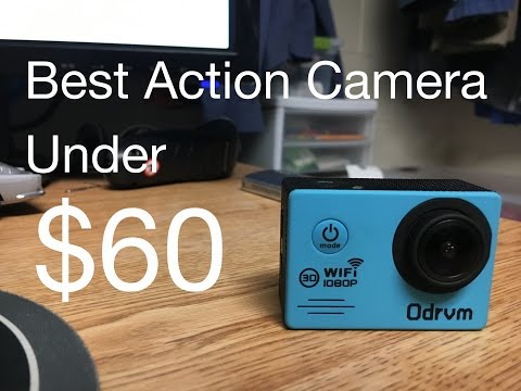 Best Action Camera Under $60: ODRVM 1080p Action Camera Review
