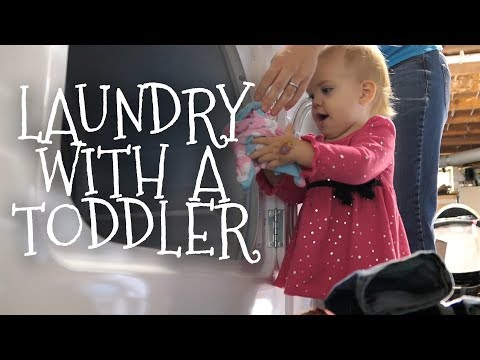 My Laundry Routine || Family of 3