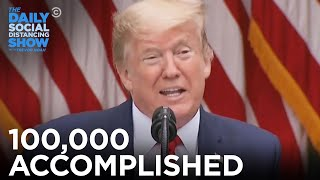 100,000 Accomplished | The Daily Show
