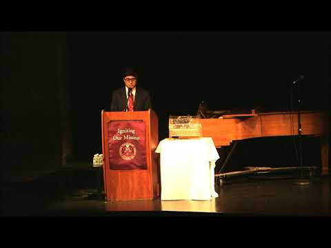 Igniting our Mission - A Celebration of Fordham Prep Student Speaker, Jeacy Espinoza '18