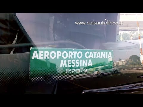 Bus from Catania Airport to Messina, Sicily