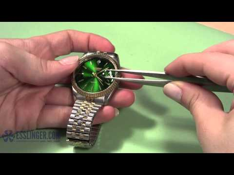 How to Attach a Watch Crystal Magnifier