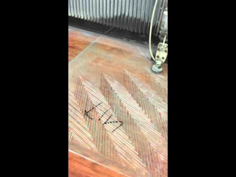 water jet cutting crystal clear 10mm sheet glass
