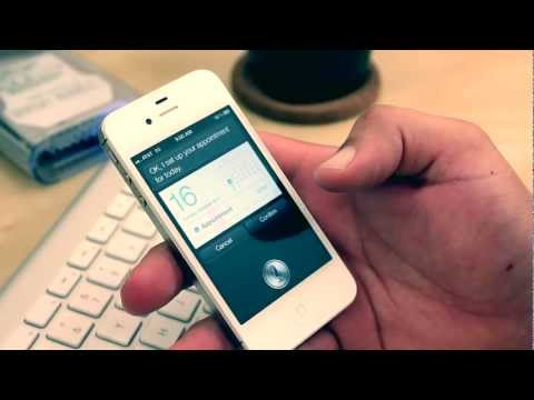 iphone 4S personal assistant (SIRI ) Quick Demo