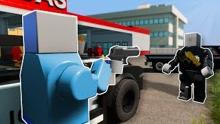 POLICE PATROL RESULTS IN CITY BATTLE! - Brick Rigs Multiplayer Gameplay - Fan Session!