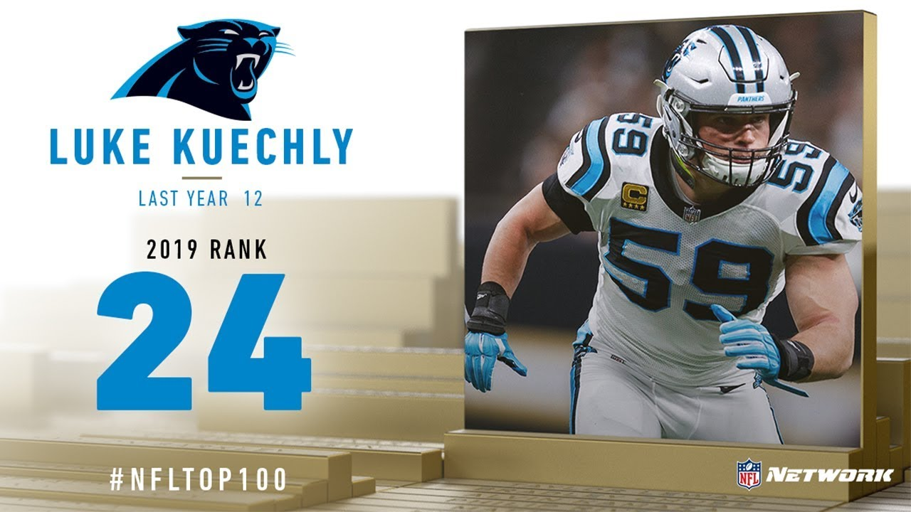 #24: Luke Kuechly (LB, Panthers) | Top 100 Players of 2019 | NFL
