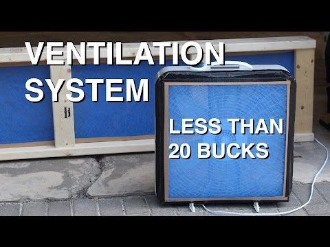 DIY: Garage Ventilation System for Under $20