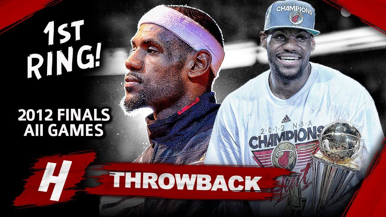 LeBron James 1st Championship, Full Series Highlights vs Thunder (2012 NBA Finals) - Finals MVP! HD