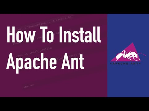 How to Install Apache Ant on a Mac