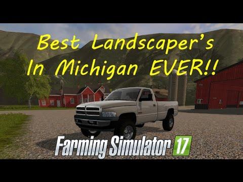 Doing Even MOAR MOWING In Michigan! Farming Simulator 2017!