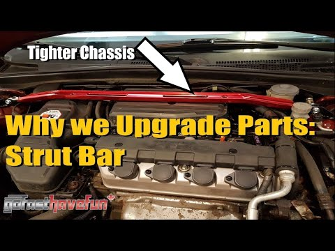 Why we Upgrade Parts: Strut Tower Brace