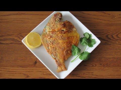 Pomfret Rava Fry | Pomfret Fry | Fish Rava Fry