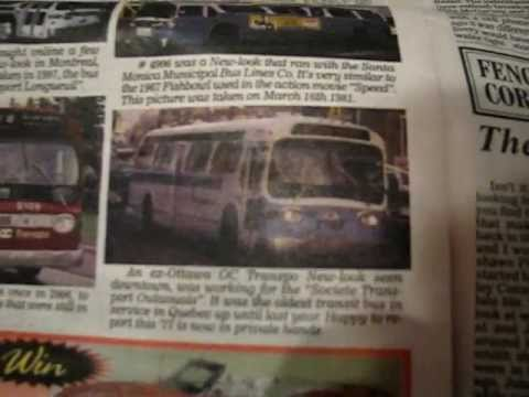 Elton McFall 's GMC New Look Bus Article In The OLD AUTOS Newspaper