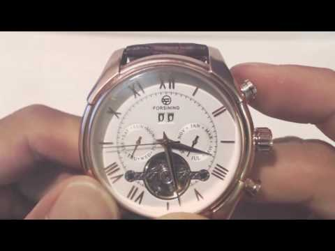 Forsining Mens Automatic Watch (Rose Gold) Review